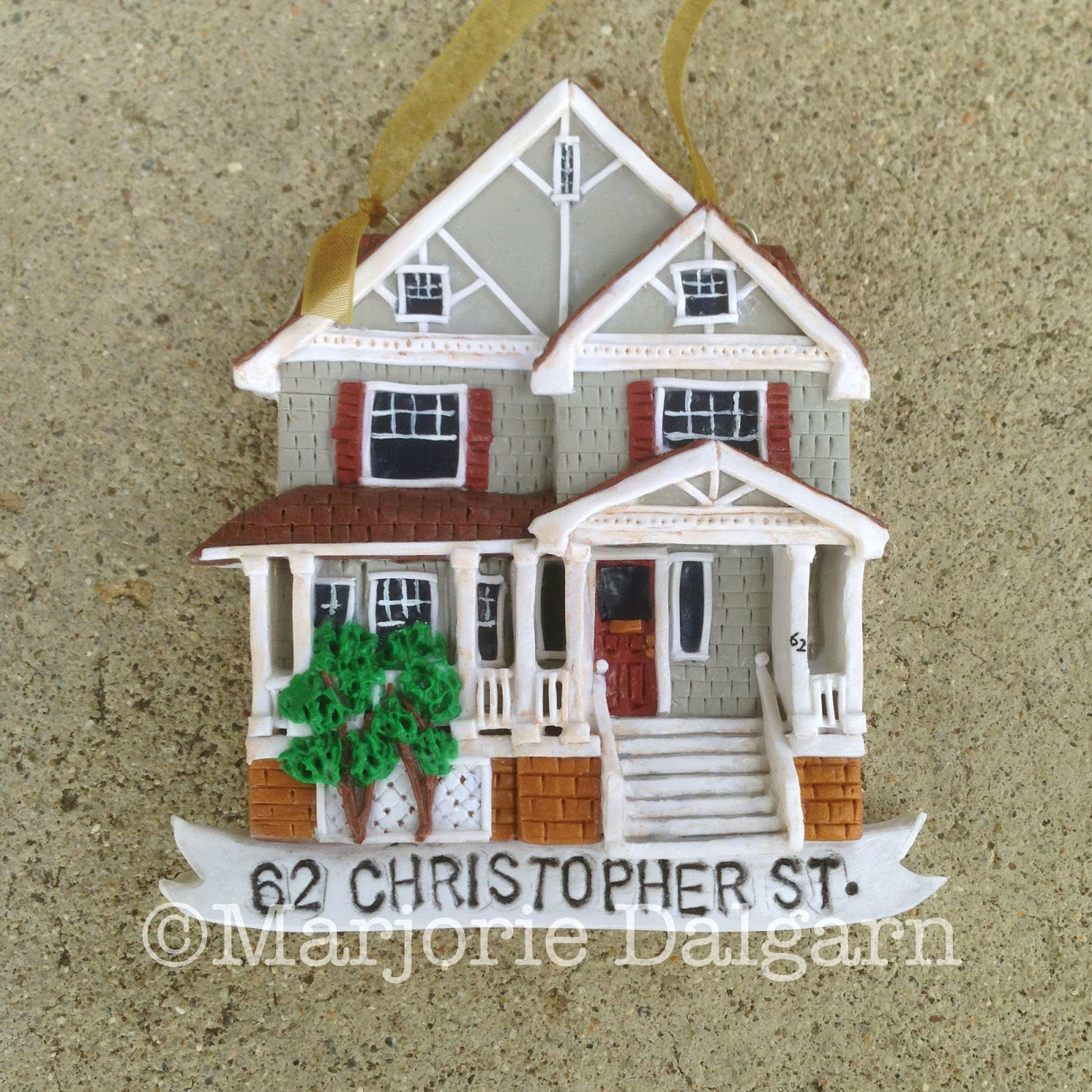 Custom House Ornament | 3moonbabies.etsy.com