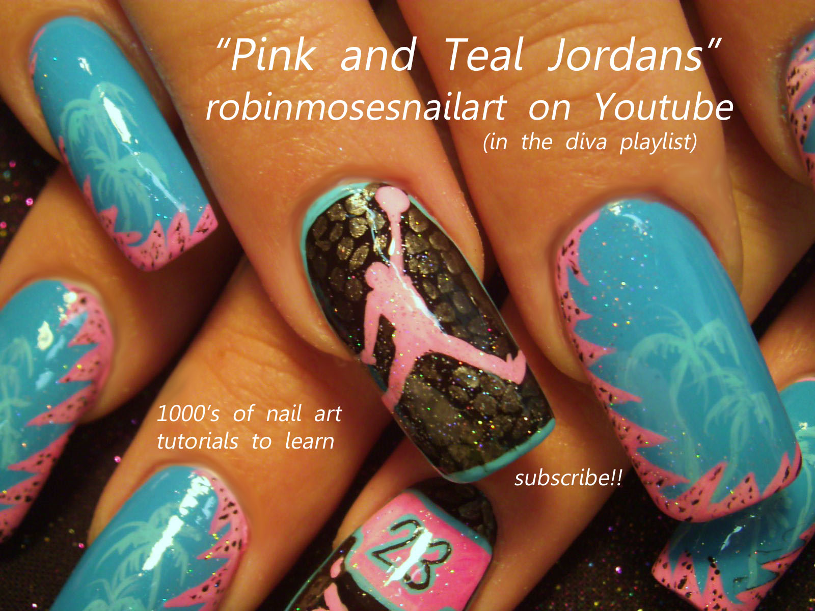 Nail art design air jordan nails michael jordan nails nike air air jordan nails michael jordan nails nike air nails tennis shoe nail pink and teal nails scene nails old school nails basketball nails sports nails prinsesfo Choice Image
