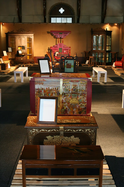Subcontinent antique furniture at Frere Hall