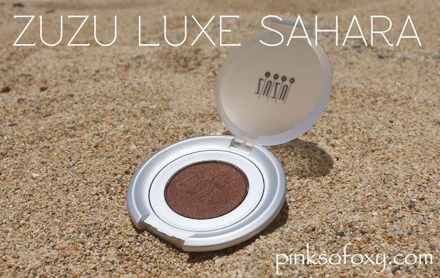 Zuzu Luxe Sahara Eyeshadow Review