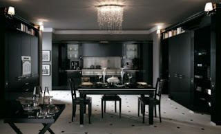 The black is one of the most elegant colors and the star of some decorative styles