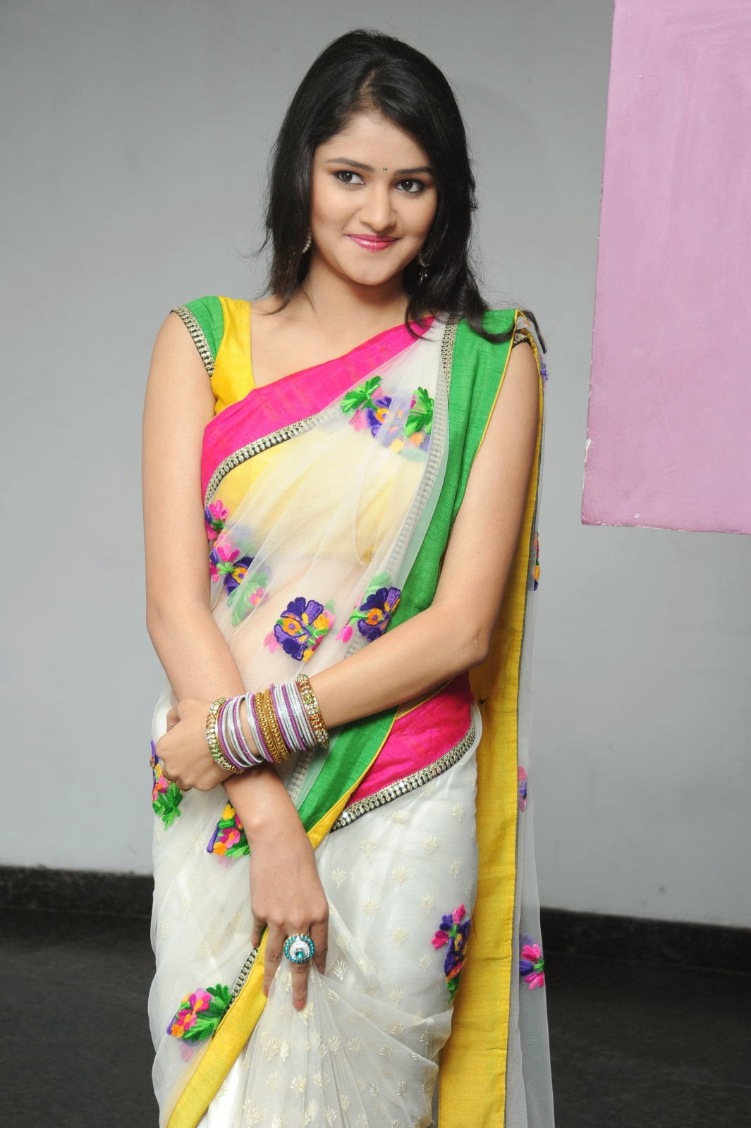 Kushi glamorous saree photos-HQ-Photo-18