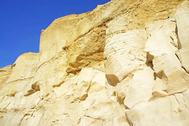 limestone cliffs gozo