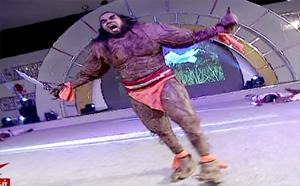 Ennodu Nee Irundhaal  | Yuvaraj & Bavithra | Yuvaraj as beast