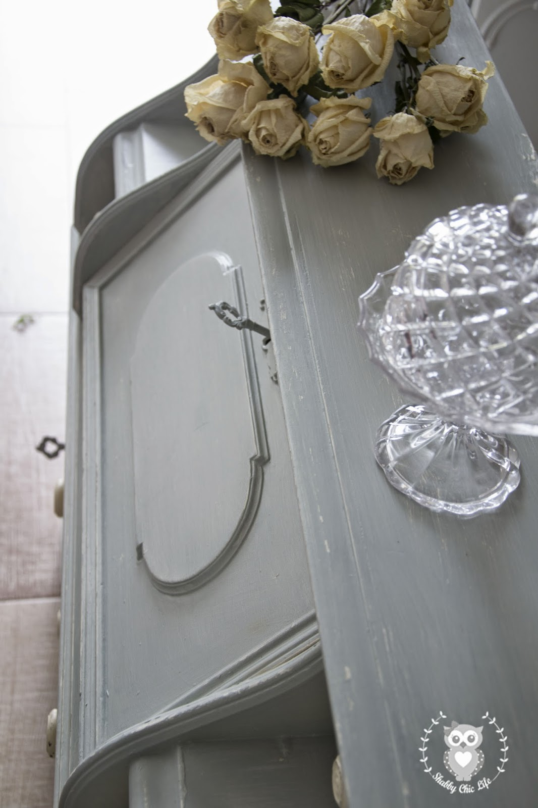 Secretaire in stile Shabby Chic con la chalk paint di Shabby Chic Life