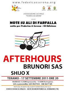 Afterhours Brunori Sas Shijo X