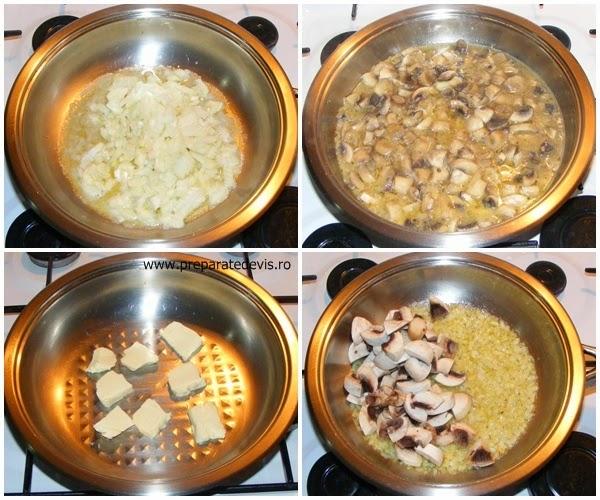 retete si preparate culinare de mancare ciulama de ciuperci cu smantana preparare sau tocanita de ciuperci cu smantana preparare