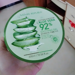 Review Nature Republic Aloe Vera Soothing Gel