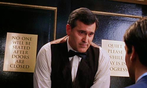 Bruce Campbell en Spiderman 2