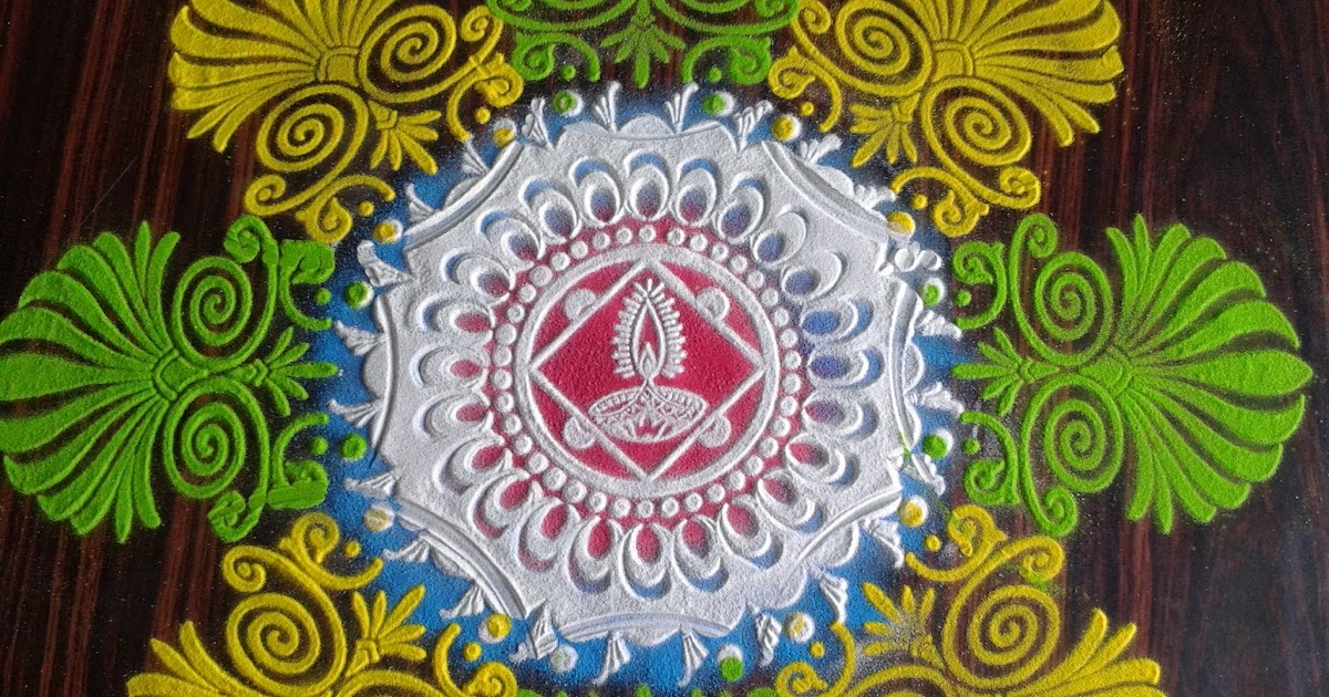 Diwali Rangoli Kolam Designs Images Diwali Rangoli Using Stencils Quick Easy And Beautiful