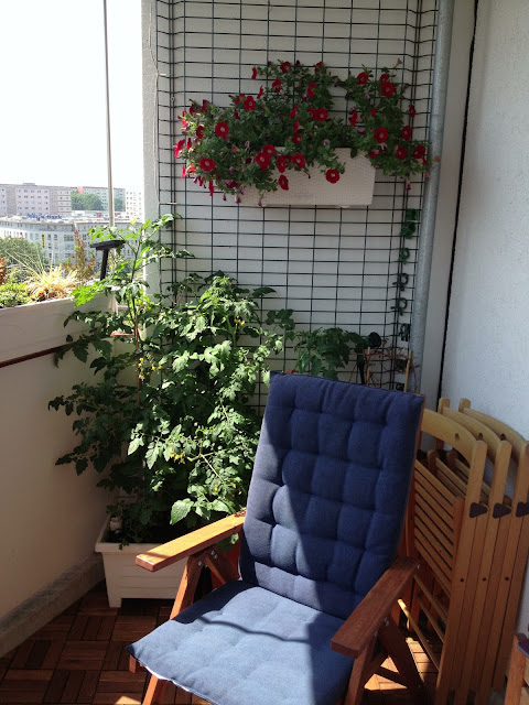 Wollvernichtungsblog Balkon Oase
