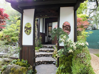 An Alcove (Tokonoma) Garden at RHS Chelsea Flower Show 2013