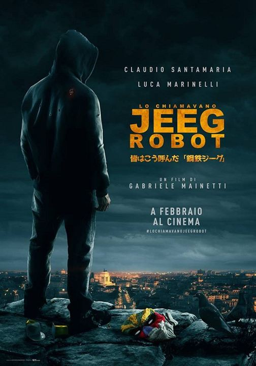 Meu Nome é Jeeg Robot Torrent - BluRay 720p e 1080p Dual Áudio (2016)