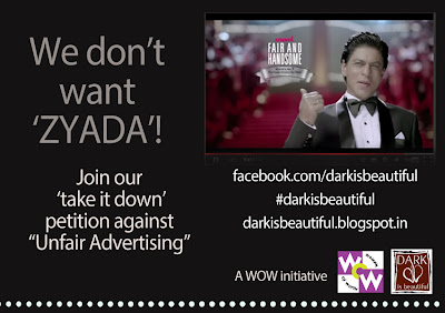 https://www.change.org/en-IN/petitions/fair-and-handsome-and-shah-rukh-khan-take-down-discriminatory-ad-lead-the-change-disbcampaign