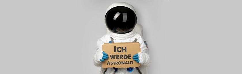 Ich werde Astronaut.