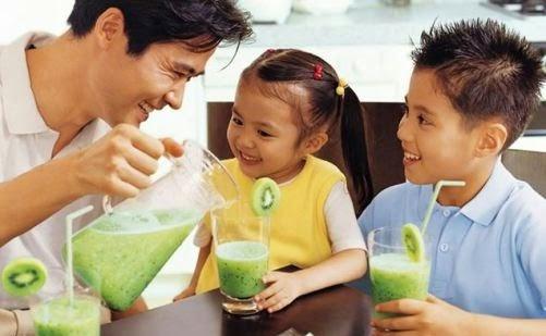فوائد عصير الكيوي للاطفال