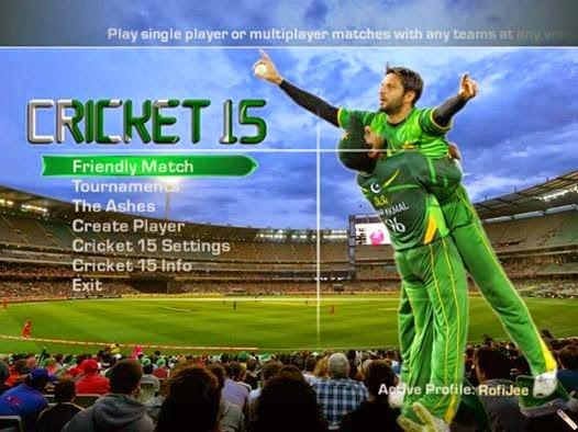 cricket world cup 2011 game setup free