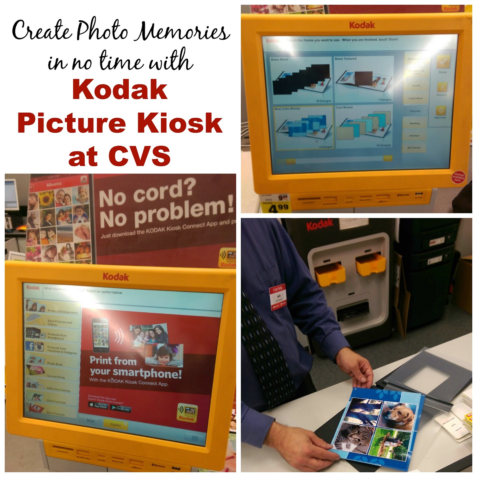 preserve photo memories with the kodak picture kiosk at cvs