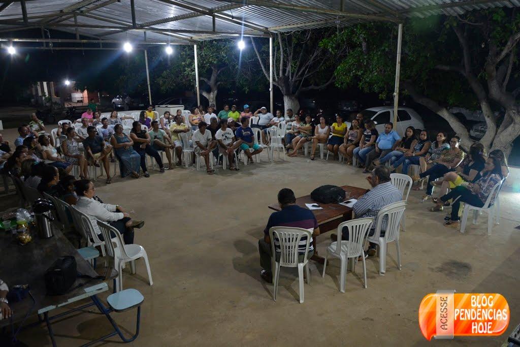 Prefeito Ivan Padilha realiza primeira reunião com Bacuras para acender o termômetro da campanha...