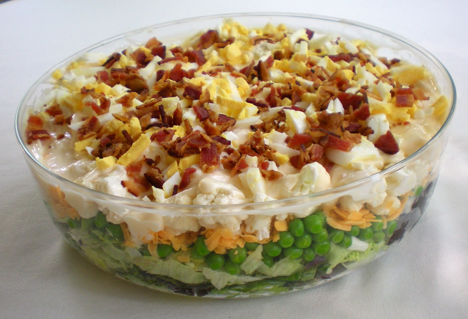 Layered Salad Recipe — Dishmaps