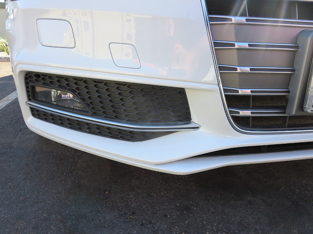 Audi S4 after bumper repairs at Almost Everything Auto Body
