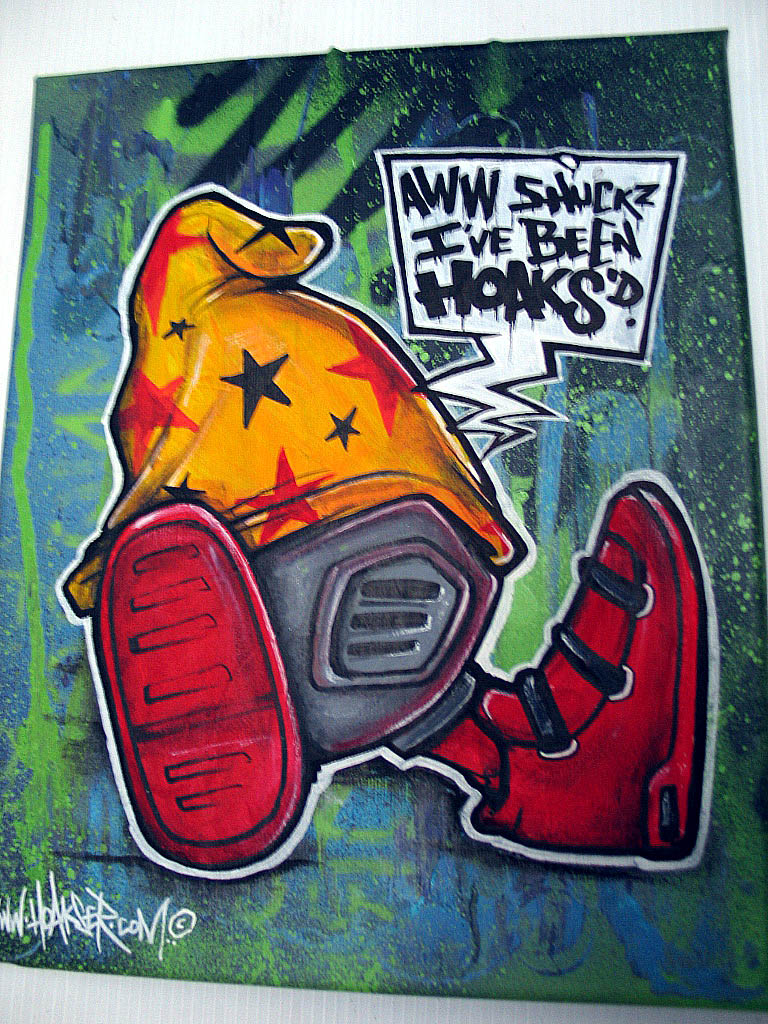 Cheech Wizard Graffiti