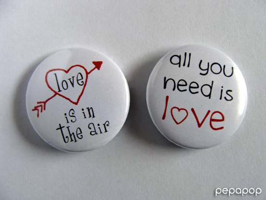 love is in the air - all you need is love