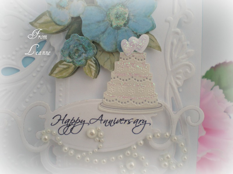 Stamping a little sunshine happy st anniversary to alexa and alan
