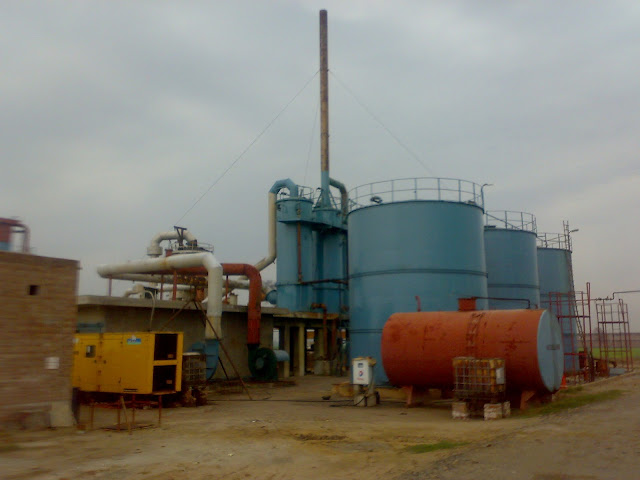 Sulfuric Acid Plant in Pakistan 100 Metric ton daily production by contact process single absorption, image by irfan ahmad plant operator, how to prepare sulfuric acid on industrial level
