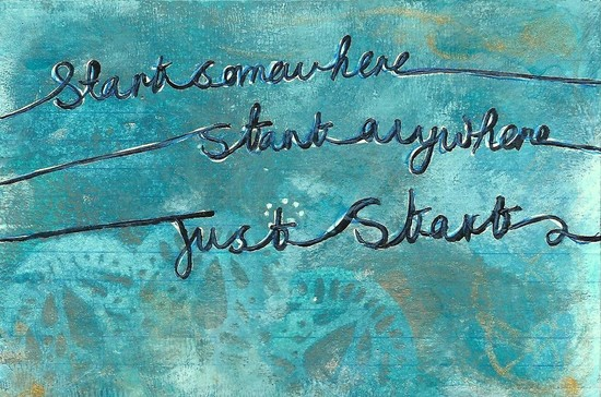 Whoopidooings: Carmen Wing: ICAD Index Card A Day 2013: Day1 - Start Somewhere...
