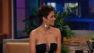 Halle Berry dress on Leno