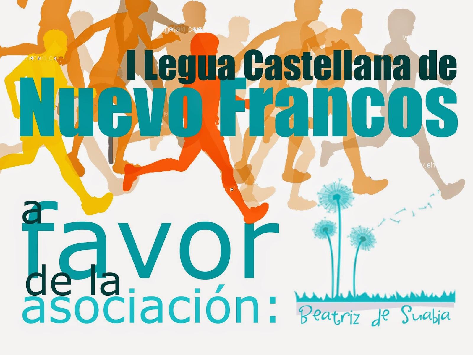 inscripción en la carrera en: http://orycronsport.es/i-carrera-popular-en-nuevo-francos/