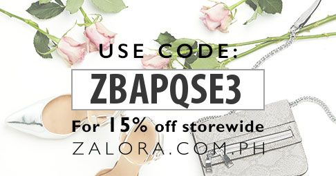new zalora buyer? get 15% discount!