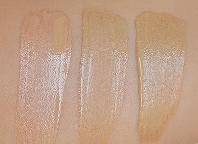 loreal true match lumi foundation swatches