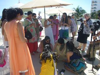Destination Maiya & Mehndi Ceremony cancun meixco sikhpriest @gmail.com