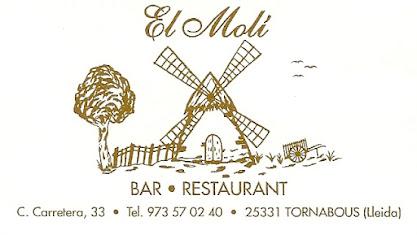 Bar Restaurant El Molí-Tornabous