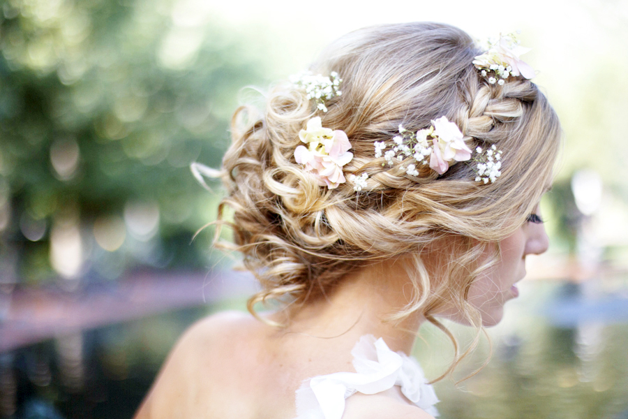 Flowers For Hair How Wedding Planning Discussion Forums