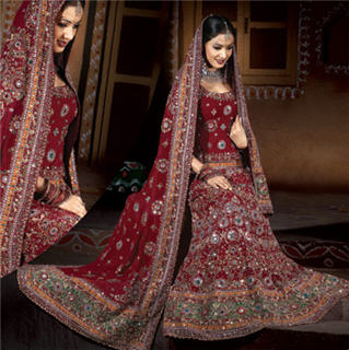 red Indian Bridal Dresses | kelseygenna