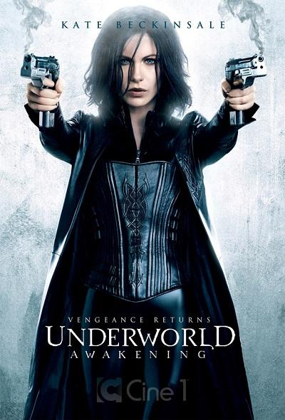 Kate Beckinsale in Underworld Awakeing