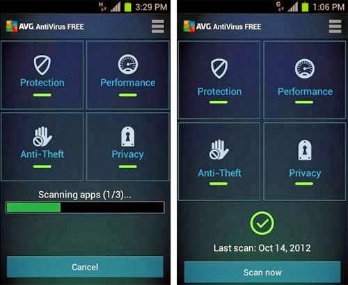 6 Antivirus terbaik android