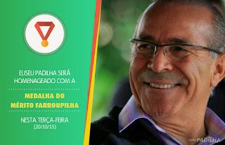 Eliseu Padilha será homenageado com a Medalha do Mérito Farroupilha