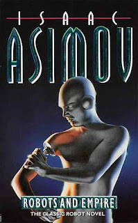 Novel - Robots and Empire - A book by Isaac Asimov (published in 1985)