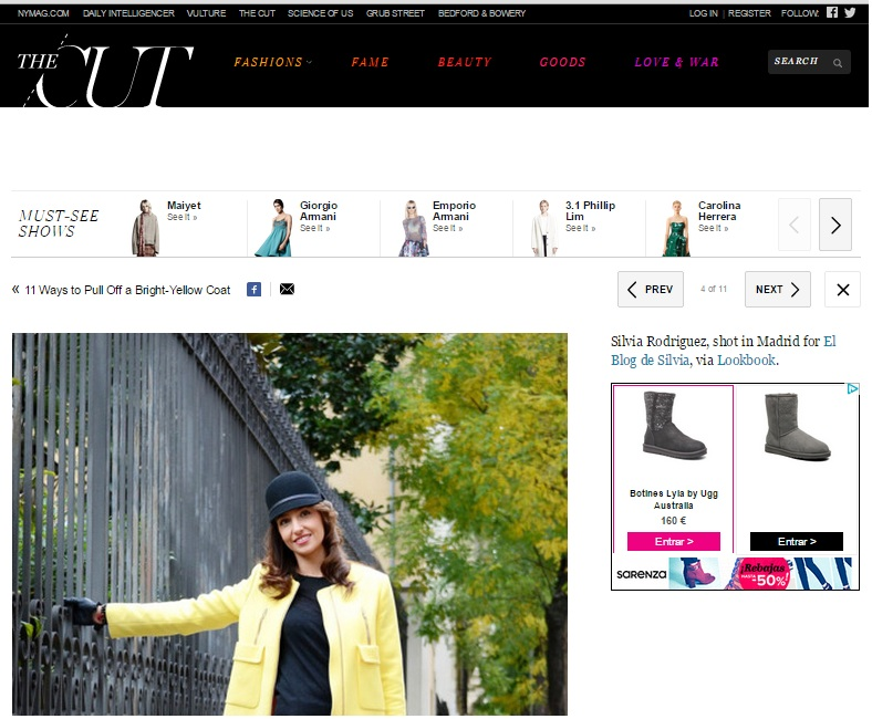 el blog de silvia-THE CUT-Yellow Coat
