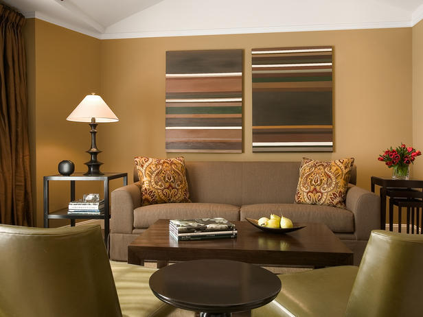 Room Schemes Unique Of Brown Living Room Color Schemes Image