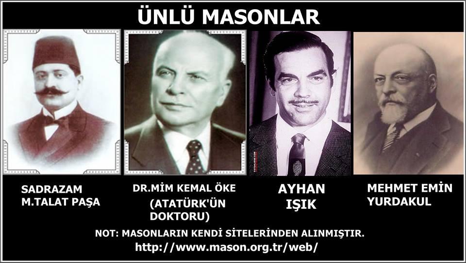 Gerçek Tarih 1 Türkiyede Masonluk Ve ünlü Masonlar