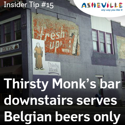 Asheville Insider Tip: Thirsty Monk.