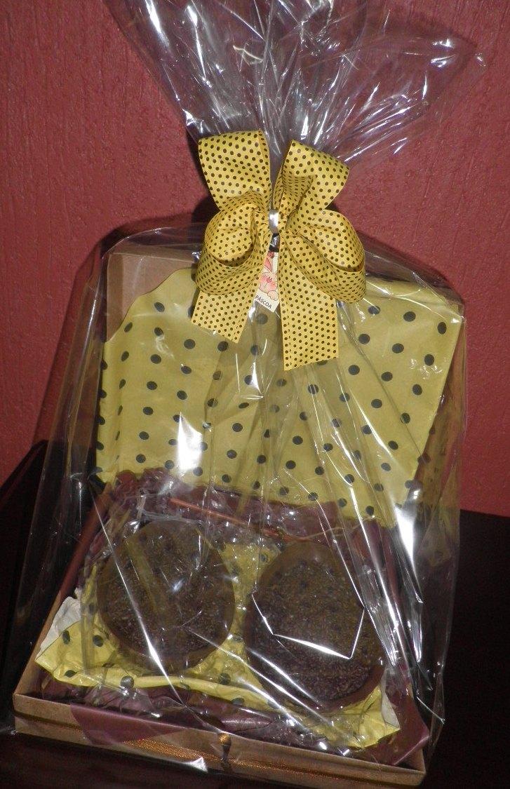 Cestas Personalizadas Bombons De Chocolate Recheados Decorada