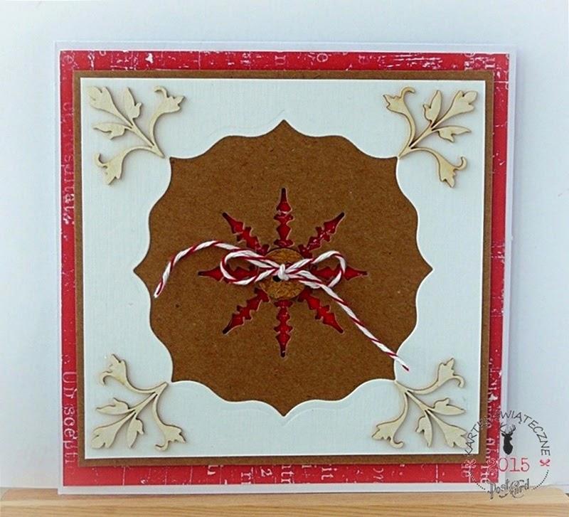 kartki świąteczne na okrągło - marzec