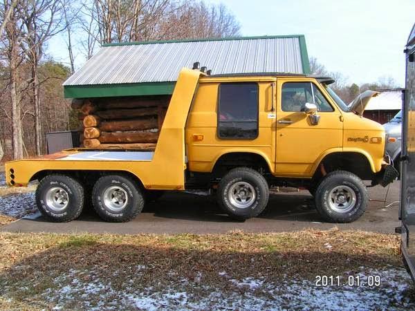 Daily Turismo: 5k: Under Destruction: 1982 Chevrolet Van 8 ...