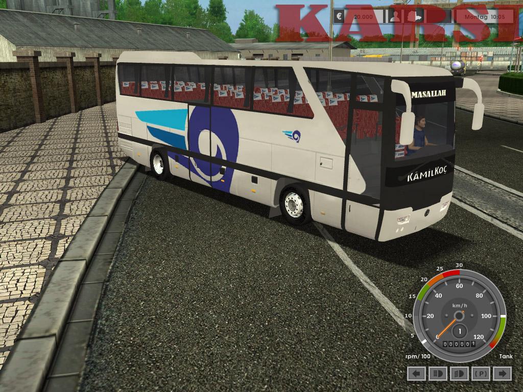 Euro Truck Simulator Otobüs Yamaları (Son Sürüm) İndir - Download